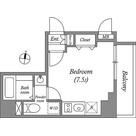 ヒューマンハイム亀戸Ⅱ / 1R(21.22㎡) 部屋画像1