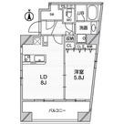アジールコート中野坂上 / 1LDK(41.19㎡) 部屋画像1