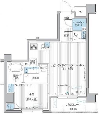 シエール自由が丘(cielle) / 1階 部屋画像1