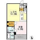 カスタリア目黒長者丸(旧イプセ目黒) / 1LDK(44.61㎡) 部屋画像1