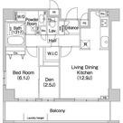 コンフォリア田町(旧マイアトリア田町) / 1SLDK(53.78㎡) 部屋画像1