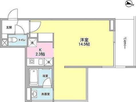 ステラメゾン目黒本町(旧プレイアデ目黒本町) / 1階 部屋画像1