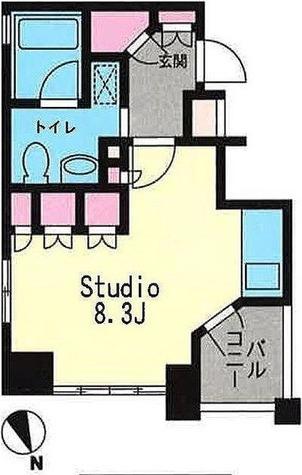 プライムアーバン恵比寿Ⅱ / 1階 部屋画像1