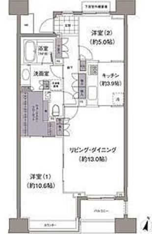 アビティ目黒 / 1階 部屋画像1