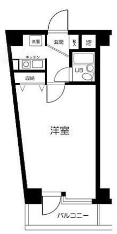 ピュアシティ横浜 / 509 部屋画像1