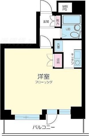 ピュアシティ横浜 / 707 部屋画像1