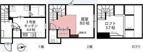 ハーミットクラブハウス等々力 / 1階 部屋画像1