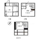 ハーミットクラブハウス下丸子 / Bタイプ 部屋画像1