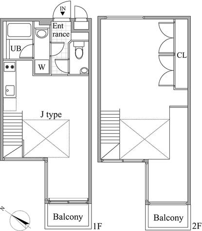 レジディア目黒Ⅱ / 4階 部屋画像1