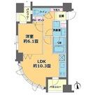 カスタリア高輪台(旧ニューシティレジデンス高輪台) / 1LDK(40.04㎡) 部屋画像1