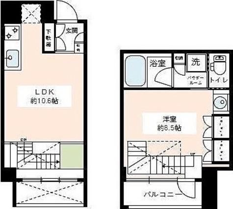 カスタリア尾山台 / Iタイプ 部屋画像1
