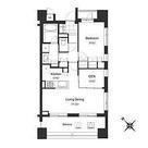 アパートメンツ三田 / 1SLDK(55.57㎡) 部屋画像1