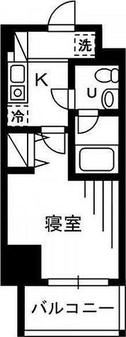 プライムアーバン川口 / 1K(20.43㎡) 部屋画像1
