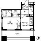 パークキューブ市ヶ谷 / 1DK(31.28㎡) 部屋画像1
