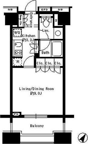 パークアクシス白金台 / 1R(30.41㎡) 部屋画像1