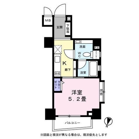 レジディア恵比寿Ⅲ(ベルファース恵比寿) / 2A 部屋画像1