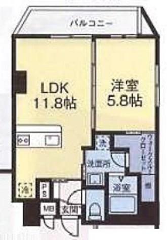 エフパークレジデンス横浜反町3261 / 1階 部屋画像1
