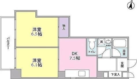 EASE PLACE多摩川 / 2DK(45.79㎡) 部屋画像1