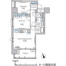 パークアクシス浅草・田原町 / 2LDK(54.37㎡) 部屋画像1
