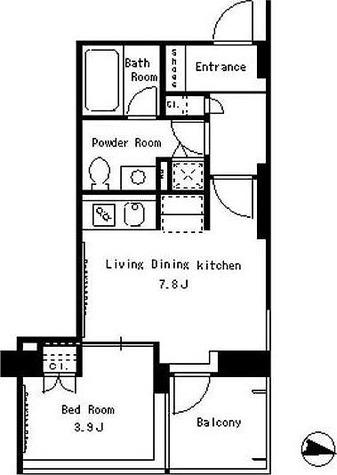 パークアクシス西麻布ステージ / 1階 部屋画像1
