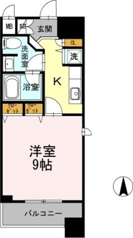 カスタリア堺筋本町 / 1K(31.02㎡) 部屋画像1
