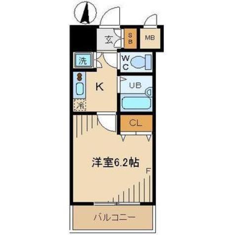 ヴィーダ御茶ノ水 / 3階 部屋画像1
