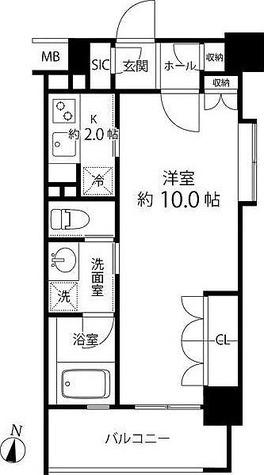 リリエンベルグ目白壱番館 / 1K(32.40㎡) 部屋画像1