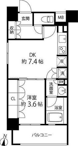 リリエンベルグ目白壱番館 / 1DK(32.04㎡) 部屋画像1