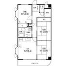 T's garden西八王子EAST / 2SDK(67.31)角 部屋画像1