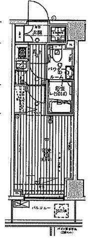 グロース横浜阪東橋 / 1K(21.63㎡) 部屋画像1