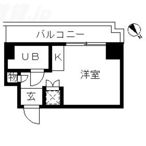 TOP川崎第3(トップ川崎第3) / 2階 部屋画像1