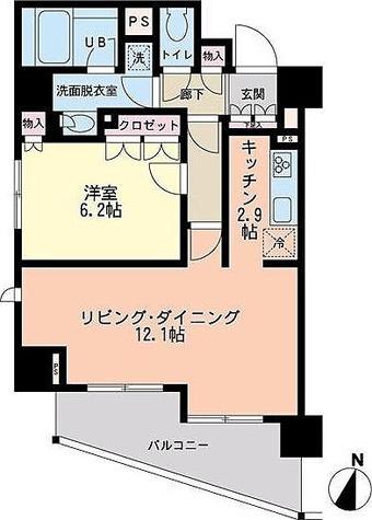 エスティメゾン赤羽 / 1階 部屋画像1
