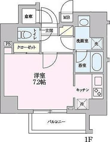 55-3錦糸町 / 1階 部屋画像1