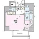 55-3錦糸町 / ワンルーム(25.31㎡) 部屋画像1