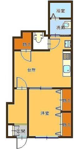 リアライズマンション / 105 部屋画像1