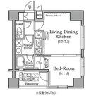 レジディア広尾南 / 3B 部屋画像1