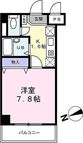 ベルデュール宮前平 / 2階 部屋画像1