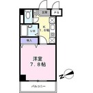 ベルデュール宮前平 / 1K(25.20㎡) 部屋画像1