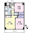 ベルデュール宮前平 / 2DK(44.46㎡) 部屋画像1
