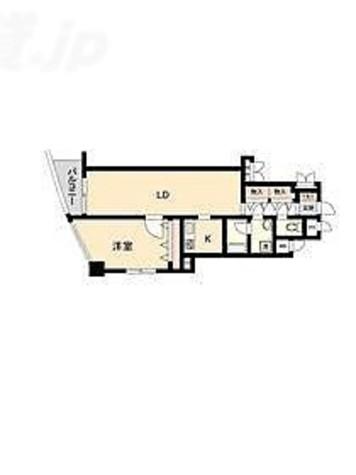 HF白山レジデンス(旧レジデンス向丘) / 1LDK(56.24㎡) 部屋画像1