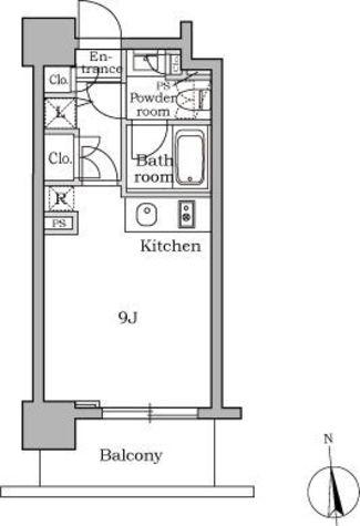 レジディア三軒茶屋 / 2階 部屋画像1