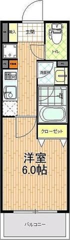 ティーリーフ横浜WEST / 5階 部屋画像1