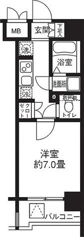 リージア代々木 / 2階 部屋画像1