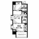 レジディア池尻大橋 / 3A 部屋画像1