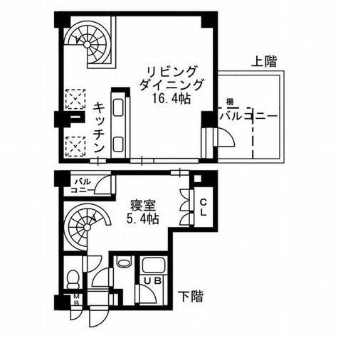 レジディア自由が丘Ⅱ(旧CRレジデンス自由が丘) / 5階 部屋画像1