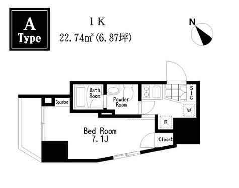 レジディア大森Ⅲ / 3A 部屋画像1