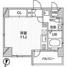 リエス千葉新宿 / ワンルーム(27.40㎡) 部屋画像1