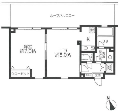 レジディア笹塚 / 4K 部屋画像1