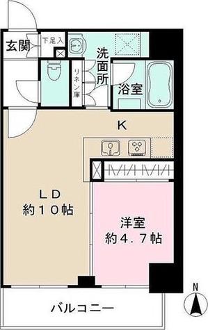 ザ・パーククロス広尾 / 1LDK(36.50㎡) 部屋画像1
