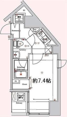 ディアレイシャス新宿中落合 / 2階 部屋画像1